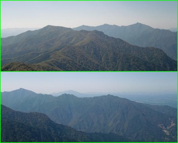 006傾 山頂風景