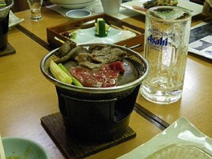 石焼牛肉001