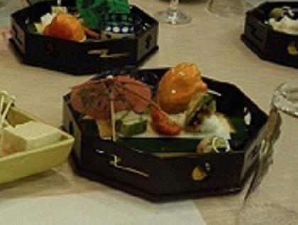 前菜 季節物五品002SP