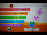 Fitness Party 2013年11月01日カロリー 合計 57kcal