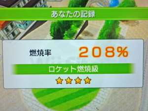 Wii Fit Plus 2013年05月04日のトレーニングの結果 その1