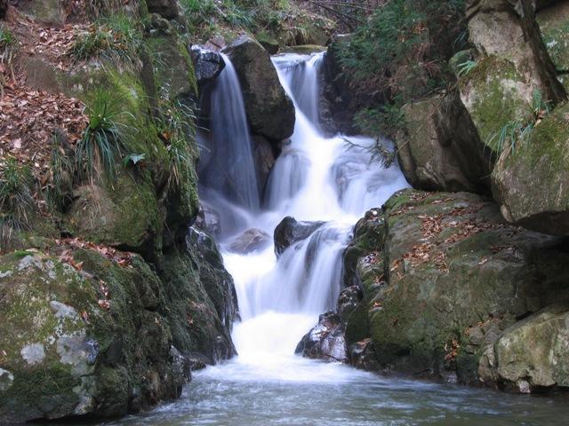 河鹿沢の雌滝20071220003