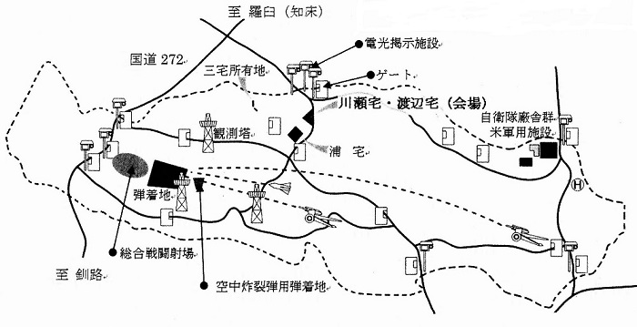 演習場の図1