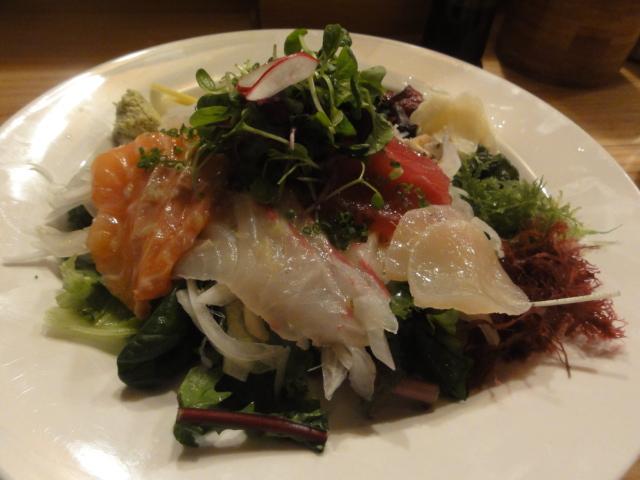 2013年6月15日 うまい京都 海そうと刺身サラダ