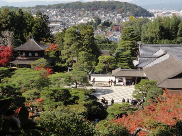 2014年11月16日 銀閣寺 上からの風景