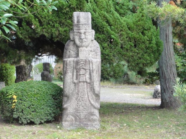 2014年11月16日 京都国立博物館 石人像