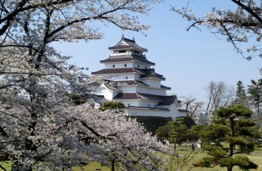 ^^今年、鶴ヶ城が一番美しい日に訪れることができました