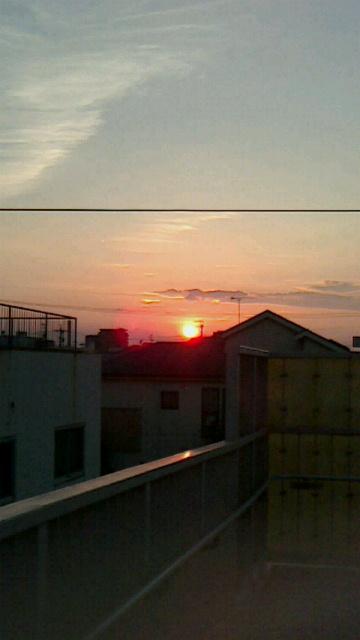 20130821夕焼け