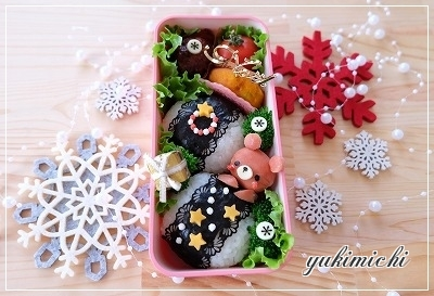 クリスマスを夢見る くちゃんのお弁当♥