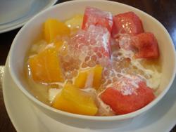 マンゴー西瓜豆花