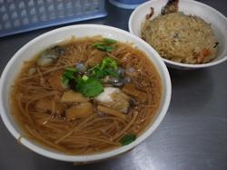 麺線と油飯