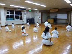 2013918 中筋本部稽古 正座
