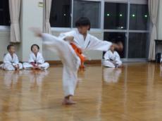 20131030 昇級審査 「移動動作」彪雅