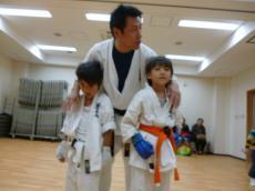 20131119 230 高松支部 組手 彪雅vs蒼空 引き分け