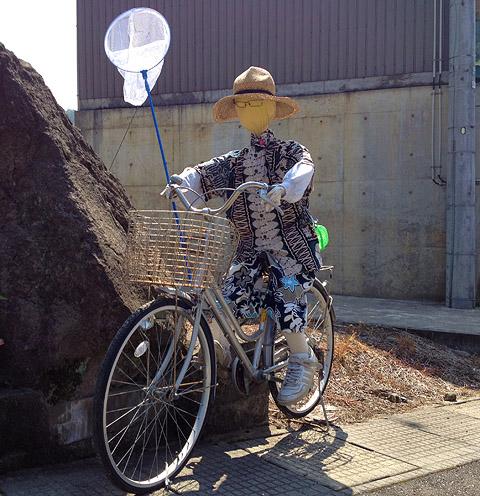 虫取り自転車マン