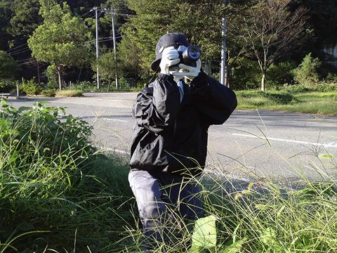 最初のカメラマン