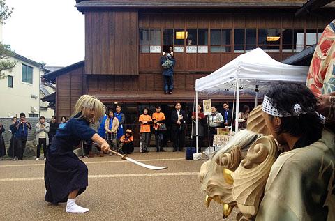 加賀獅子舞