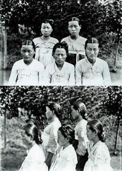 当時の朝鮮。美人しかいない