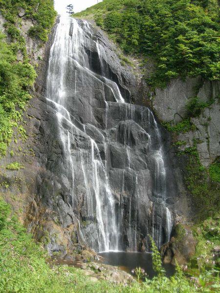 安の滝の上段