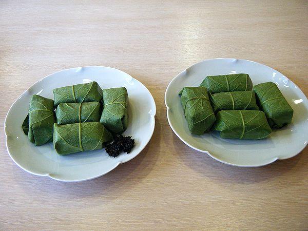 柿の葉寿司