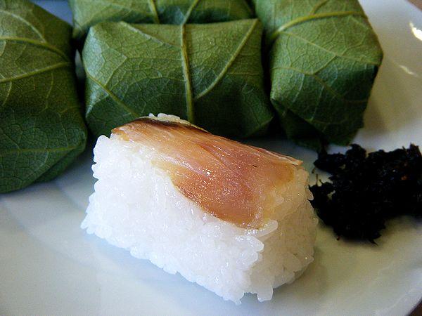 柿の葉寿司(サバ)