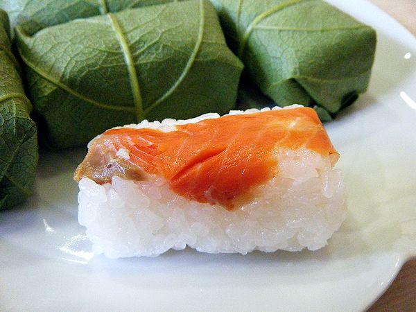 柿の葉寿司(サケ)