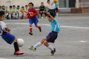 【2013年度第45回横浜国際チビッ子サッカー大会】 青葉FC SL@すすき野小学校/少年サッカー