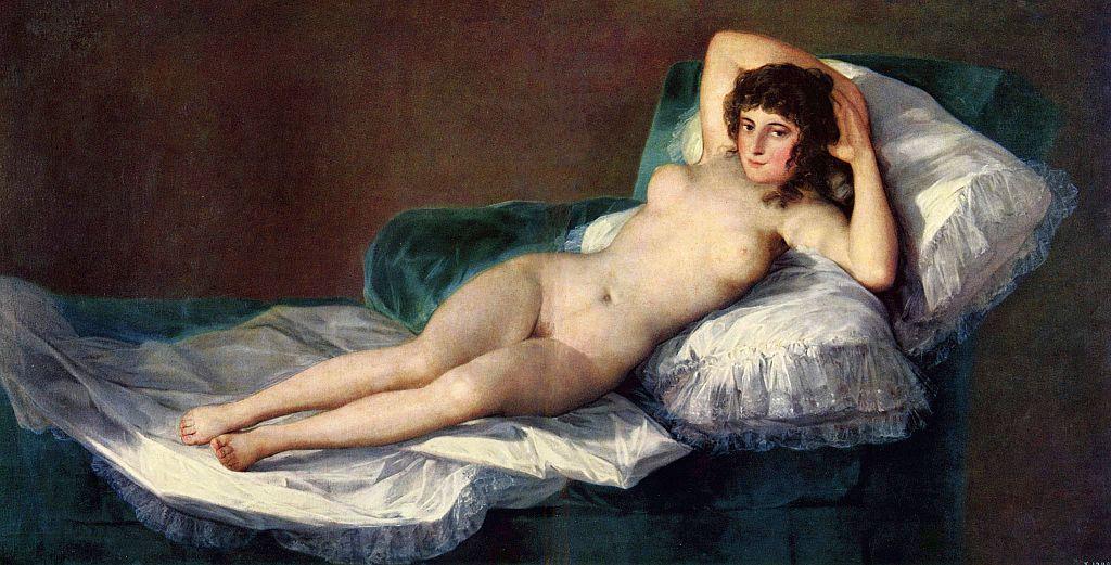 『裸のマハ』フランシスコ・デ・ゴヤ