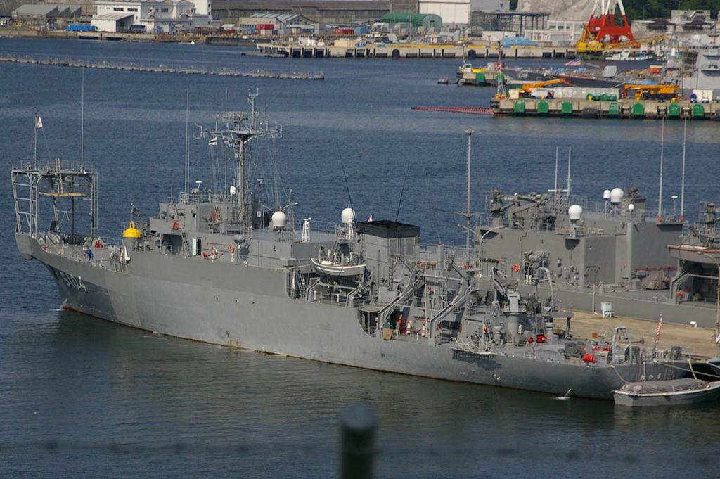 海洋観測艦 AGS-5104 わかさ_2