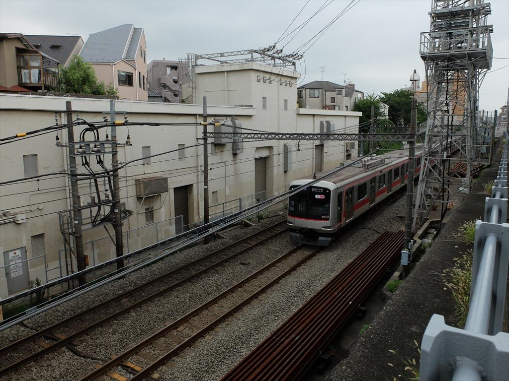 東急線柿の木坂変電所
