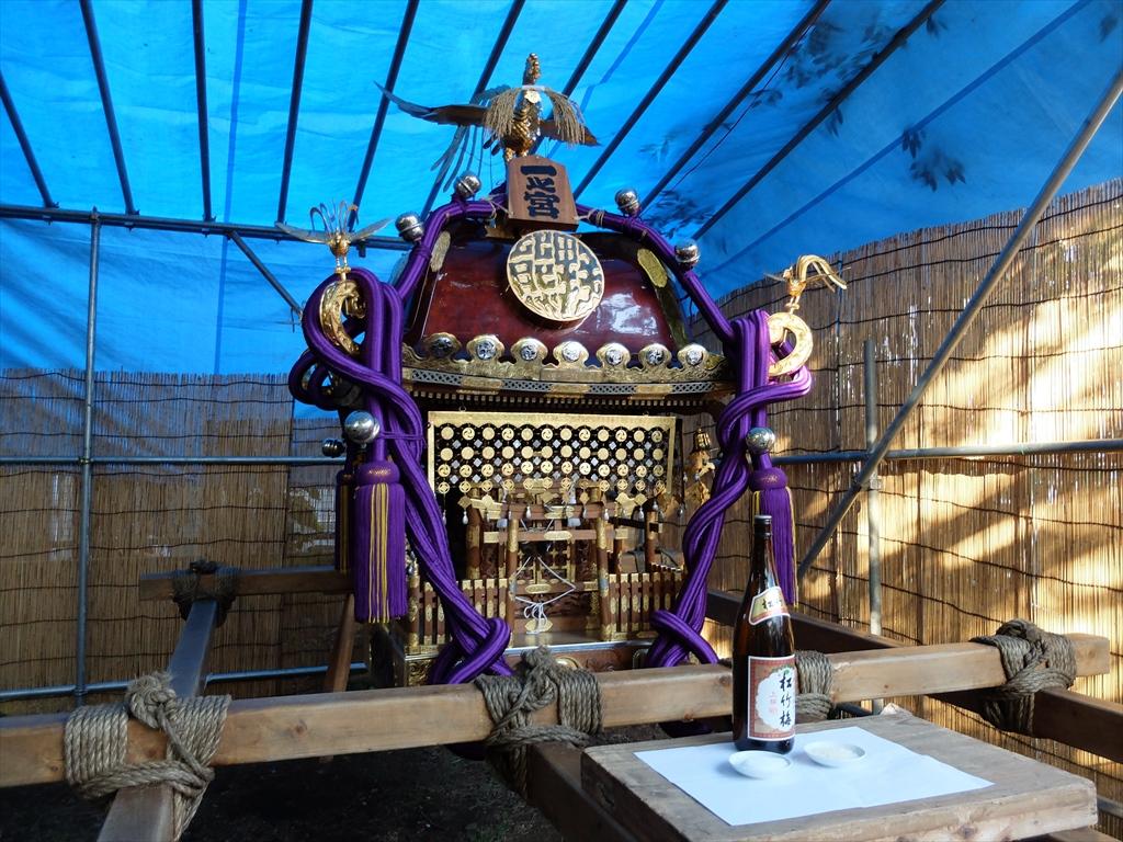 大きい方(一之宮)の神輿