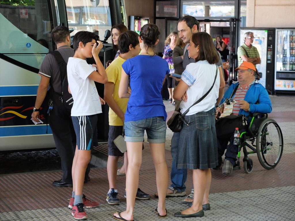 レオンのバスセンターの様子_1