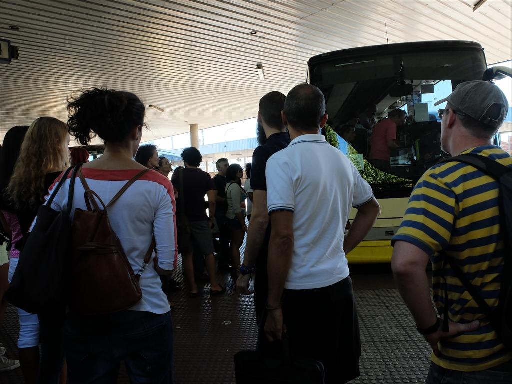 レオンのバスセンターの様子_2