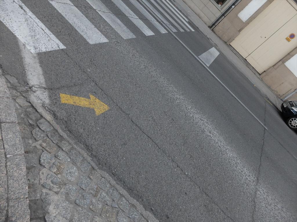 巡礼路の目印
