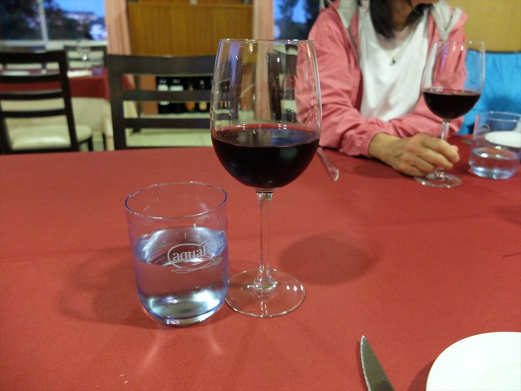 コースに含まれるワイン