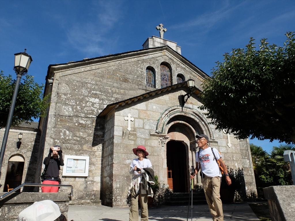 サン・ティルソ教会を後にする_2