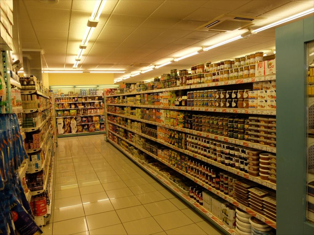 スーパーマーケットの様子_4