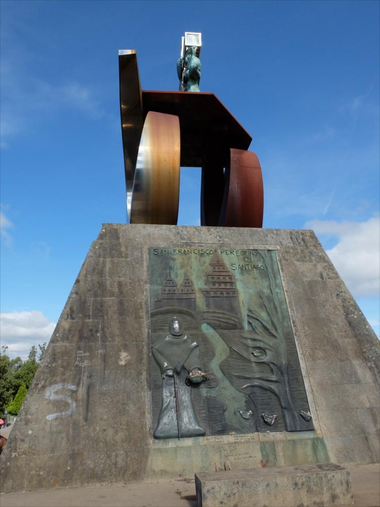 教皇ヨハネ・パウロ2世がサンティアゴを訪れた記念碑_4