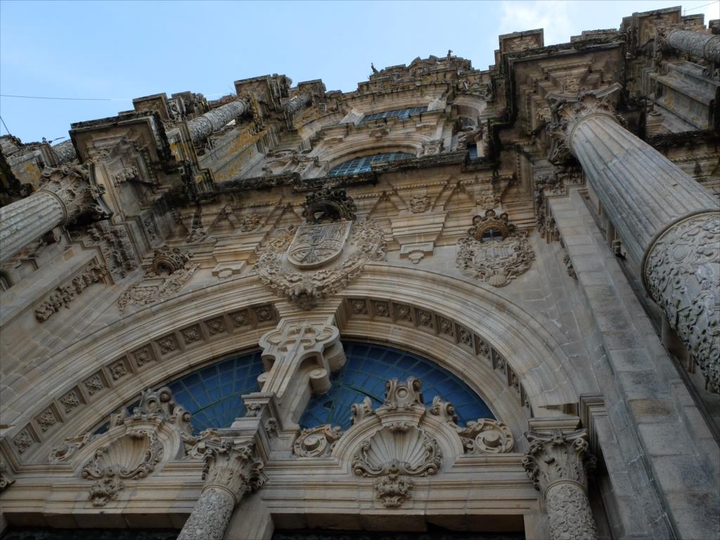 オブラドイロの門(この内側に栄光の門がある)