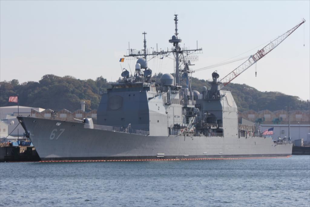 ミサイル巡洋艦 CG67 SHILOH_1