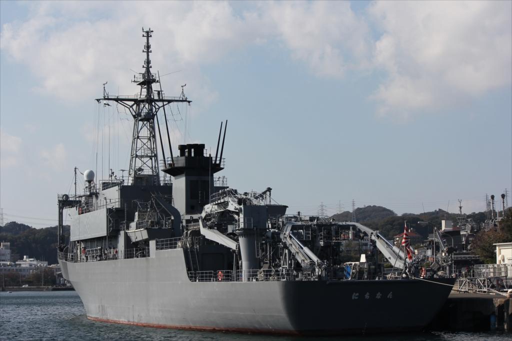 海上自衛隊 海洋観測艦 AGS-5105 にちなん_1