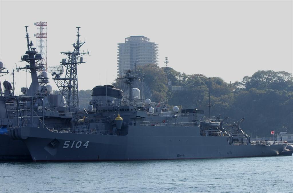 海洋観測艦 AGS-5104 わかさ_1