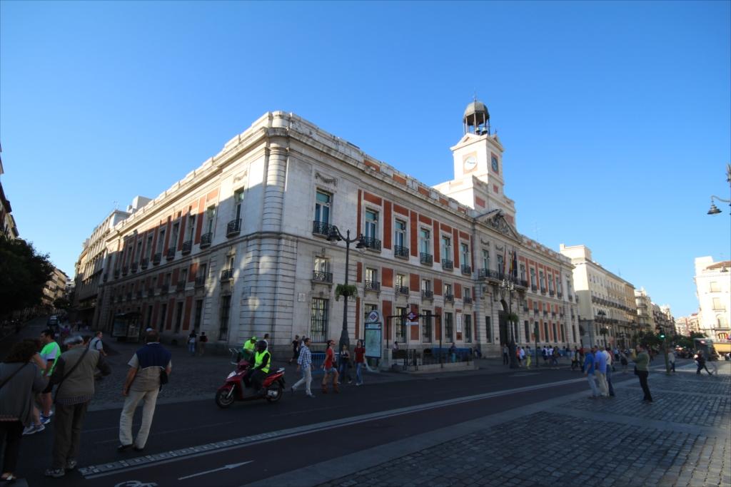 Fachada principal de la Casa de Correos, en la Puerta del Sol_2
