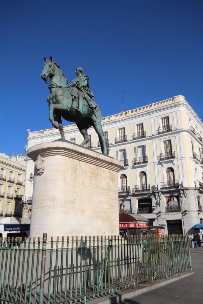 カルロス3世騎馬像_1