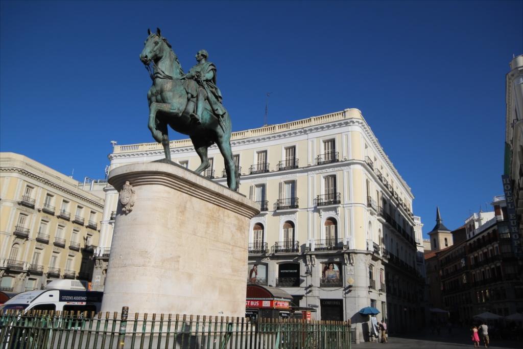 カルロス3世騎馬像_2