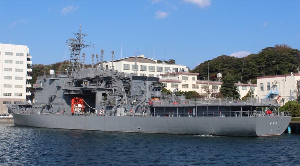 潜水艦救難母艦 AS-405 ちよだ_3