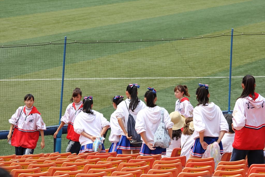 慶應義塾女子高校のチアリーディング_1