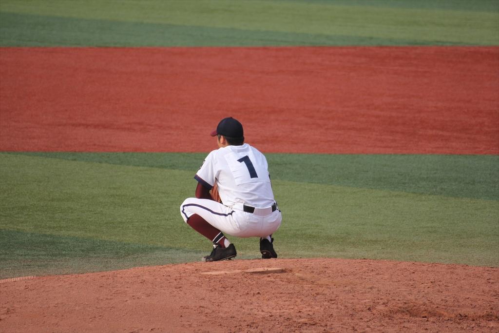 松井、浅間に本塁打を浴びる_2
