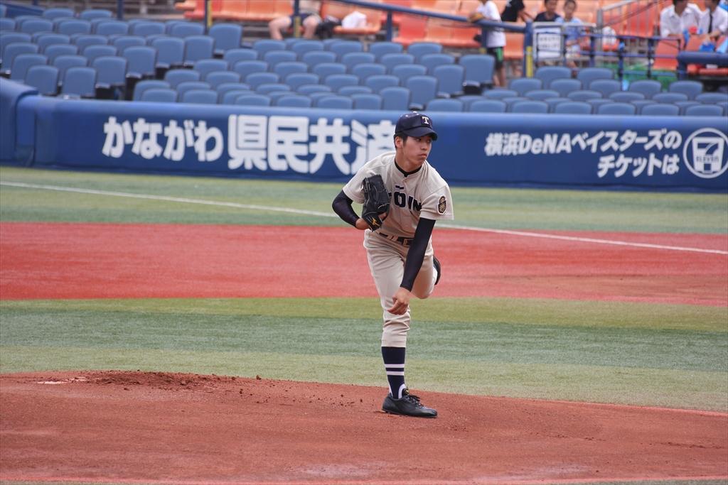 桐蔭先発斎藤の投球フォーム_5