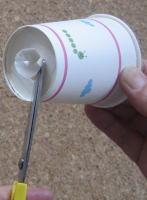 紙コップカズー 作り方3